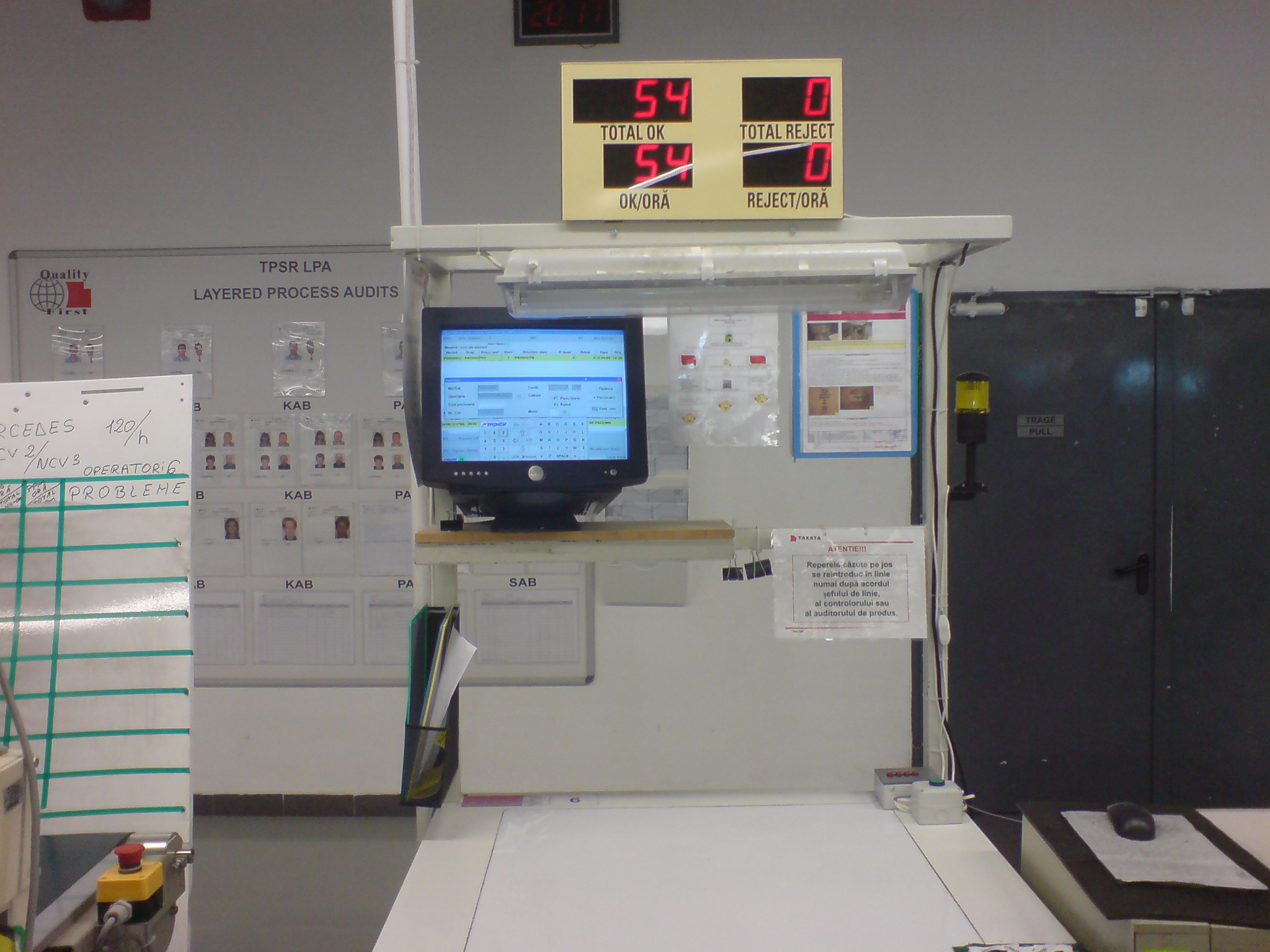 Aplicatie monitorizare productie EKN1102 2